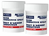 MG Chemicals 8331-50ML Silver Epoxy Adhesive - High Conductivity, 10 min working time, 115 g, 2-Part Epoxy Kit