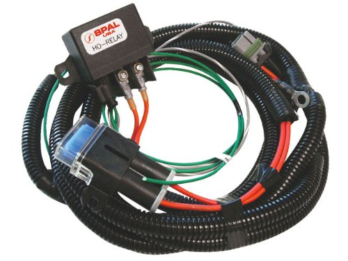 Spal FRH-HO-KIT Fan Relay Harness with Relay Kit by Spal
