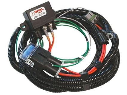 amazon com spal frh ho kit fan relay harness with relay kit automotive rh amazon com 5 Pin Relay Wiring Diagram Arduino Relay Wiring
