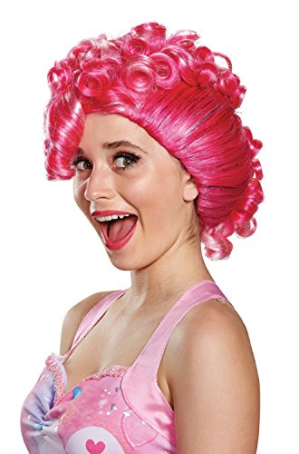 Disguise Women's Pinkie Pie Movie Adult Wig, Pink, One Size -