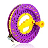 YaeTact Professional Reel Winder with Strong Kevlar Line 8.6 inch Diameter with 1000FT Line