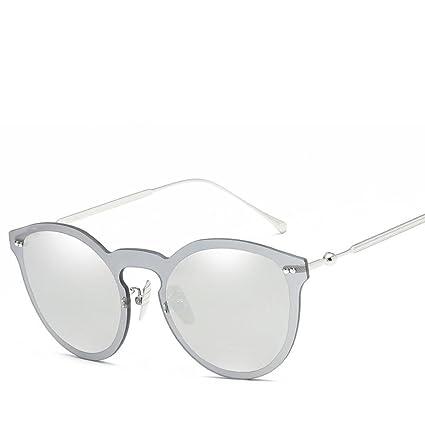 BiuTeFang Gafas de Sol Mujer Hombre Polarizadas Arroz Metal Uñas a Gafas de  Sol Moda los 79a73e3fed00