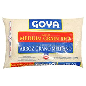 Amazon.com : Goya Rice Medium Grain : Dried White Rice