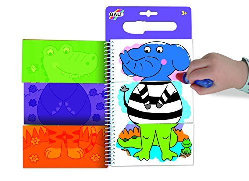 Galt Jungle (Galt Toys Water Magic Flip Book Jungle by Galt Toys)