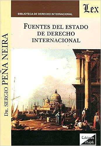 Fuentes del Estado de Derecho internacional: Sergio PEA NEIRA: 9789875721548: Amazon.com: Books
