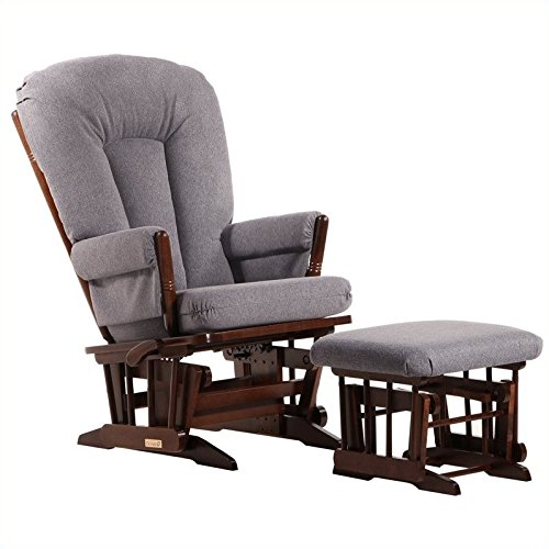 (Dutailier Colonial Glider-Multi-Position Recline and Ottoman Combo)