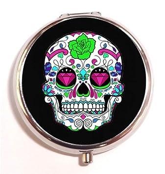 Amazon.com: Azúcar Cráneo Tatuaje Arte Rockabilly mexicano ...