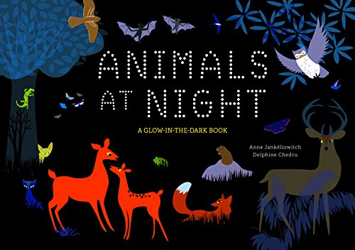 - Animals at Night: A Glow-in-the-Dark Book