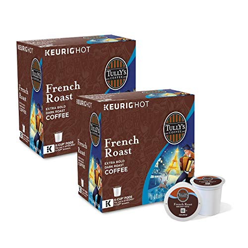 Tully's Coffee, French Roast, K-Cup Pods (180 ct.)ES