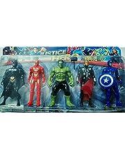 Five Superheros Figures