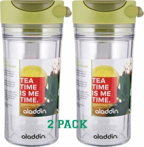 (Aladdin Perfect Cup Tea Infuser 12oz, Chai - 2 Pack )