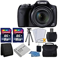 Canon PowerShot SX530 HS Digital Camera with 50x Optical...