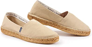 VISCATA Alpargatas hechas a mano en España para hombre, auténticas y originales, con suela acolchada y entrepierna elástica para mayor comodidad y ajuste: Amazon.es: Zapatos y complementos