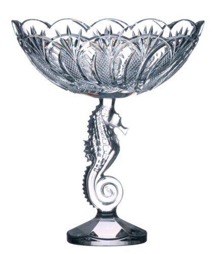 Waterford Crystal Seahorse Centrepiece Bowl 25cm Amazon