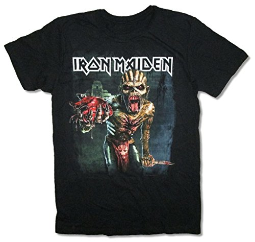 Iron Maiden Book Of Souls North American Tour Black T Shirt (XL) (Collectible Tees)