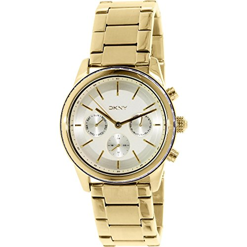 DKNY Women's NY2330 ROCKAWAY Gold Watch