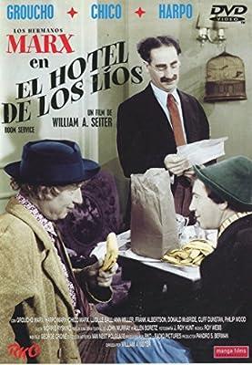 El hotel de los lios: Amazon.es: Groucho Marx, Harpo Marx, Chico ...