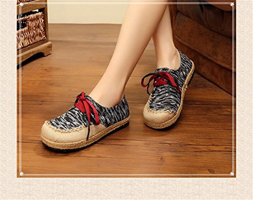 lona sandalias de black bajo los estudiantes de único zapatos zapatos sistema solo gruesa Moda Sandalias mujer redonda mujer de y de zapatos con Los con cabeza Zapatillas Sandalias ventilación PFf8w7xpq