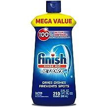 Finish Jet-Dry Rinse Aid, 23oz, Dishwasher Rinse Agent & Drying Agent