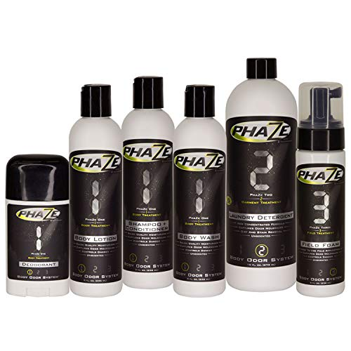 PhaZe Body Odor System (5pk) - #1 Deer Hunter's Scent Elimination & Scent Control System!