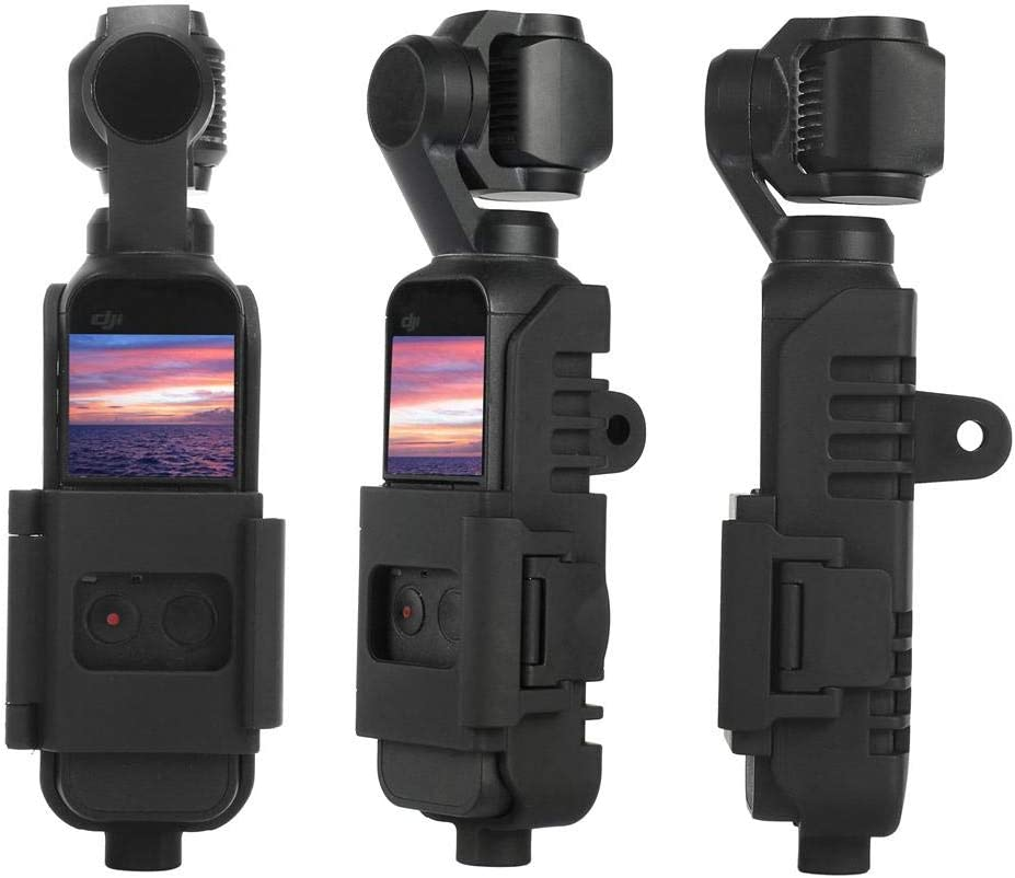 fineshelf Camera Support Camera Case Multi-Function Expansion Shell ABS Material Suitable for DJI OSMO Pocket PTZ Camera Accessories Black