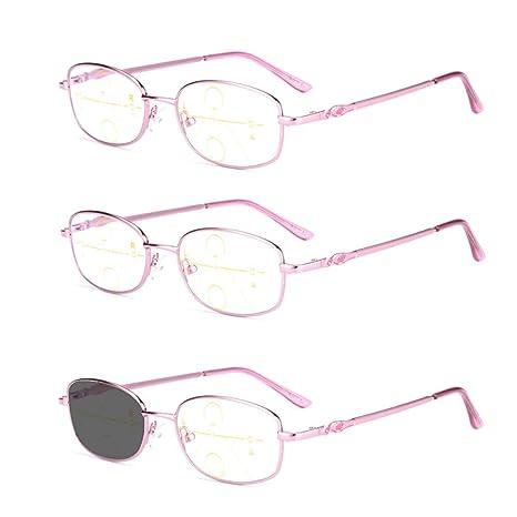 Gafas de Lectura para Ancianos, antirrayas Azules ...