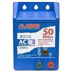 Fi-shock Eac50m-fs Ac Low Impedance Energizer, 50-mile