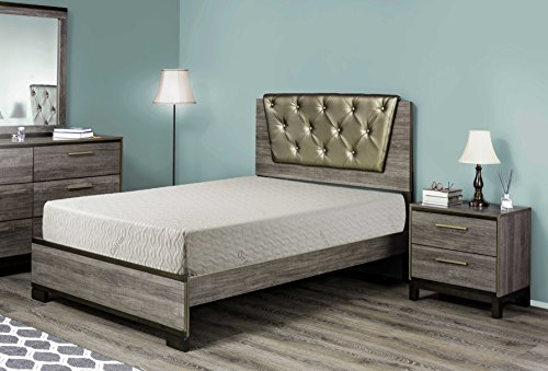 BEST 2 REST 8 Inch Natural Latex Mattress Twin xl, With Organic Cotton Cover - Made in USA
