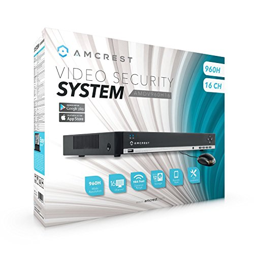 Amcrest 960H 16CH 1TB Security Camera DVR (Cameras Not Included)