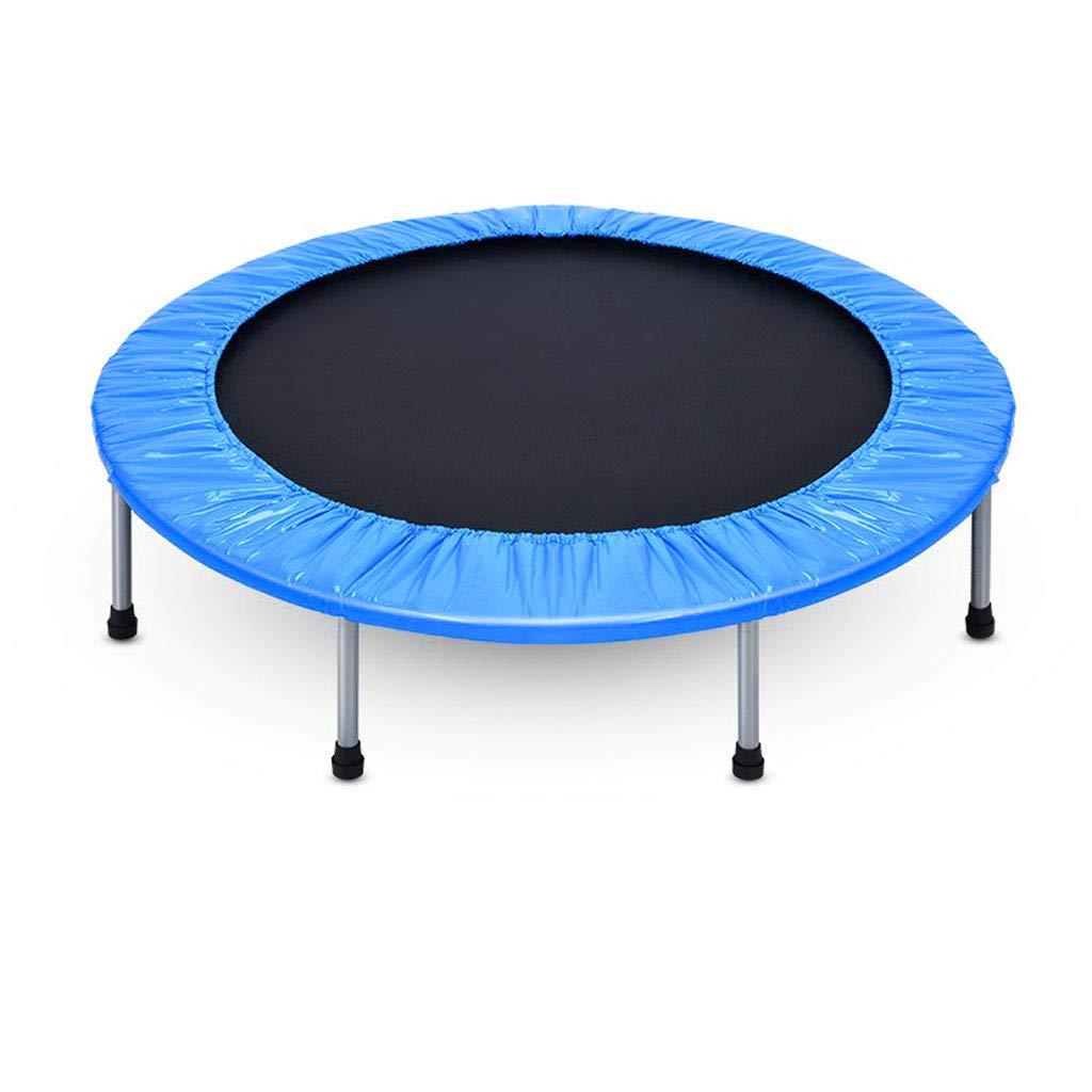 フィットネストランポリン、安全な屋内折りたたみミュートトランポリン 青、亜鉛メッキ春 青、大人の子供のスポーツ :、耐えられる100KG、48インチ (色 : イエロー いえろ゜) B07MLKNF1R 青 青, 格安:6893cfcc --- krianta.com