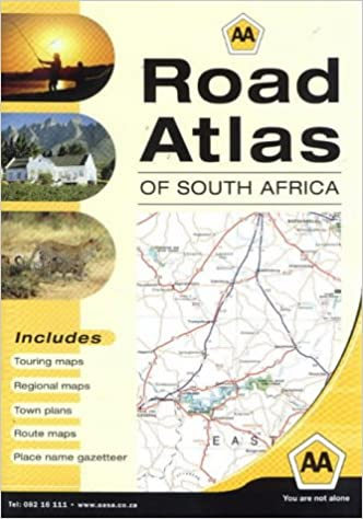 AA Road Atlas of South Africa: Amazon.co.uk: Dave Harland