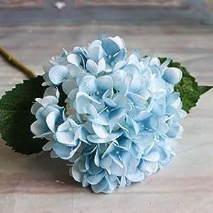 Flores Artificiales De Hortensias Flores Artificiales Vivas