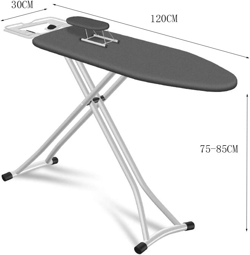 Z-Hawvii Z-W-DONG Metal Ironing Tool, Increase Large Area Non-slip Ironing Board Hotel Living Room with Tray Ice Water Cover Save Space Ironing Boards (Color : C) B