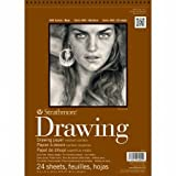 Strathmore Medium Drawing Spiral Paper Pad 11x14-24 Sheets