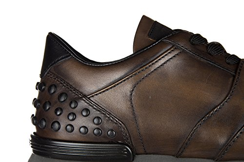 Chaussures baskets sneakers homme en cuir allacciate dots spoiler Tod's HGnLhP