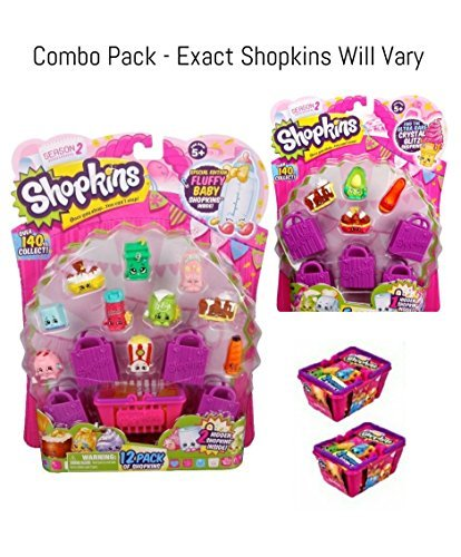 Bundle - 3 Items: Shopkins (2) Season S2 2 (1) - (1) S2 12 Pack, S2 and (2) S2 Baskets by Moose B01M3YUG0S, EXTRA ISSUE:04fabae4 --- arvoreazul.com.br