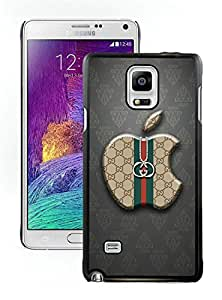 Fashionable And Beautiful Designed Case For Samsung Galaxy Note 4 N910A N910T N910P N910V N910R4 With GU CCI 14 Black Phone Case
