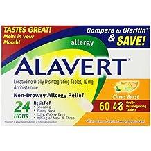 Alavert Loratadine Allergy Orally Disintegrating Tablets Citrus Burst (180 Orally Disintegrating Tablets)