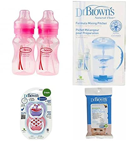 Amazon.com: Dr. Brown s 4 piezas regalo Set- Fórmula ...