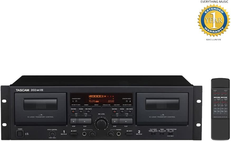 REFURB Marantz Professional PMD-300CP Dual Cassette Recorder//Player with USB