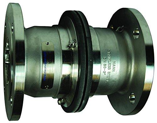 Dixon SBC300SSFL 316SS Industrial Breakaway, 150# Flange x 150# Flange, 3