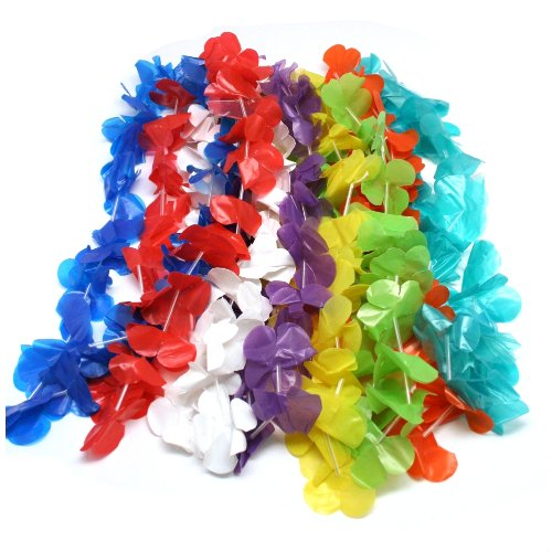 Plastic Flower Leis - 7
