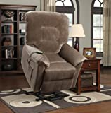 Coaster Home Furnishings Casual Power Lift Recliner, Brown - Best Reviews Guide