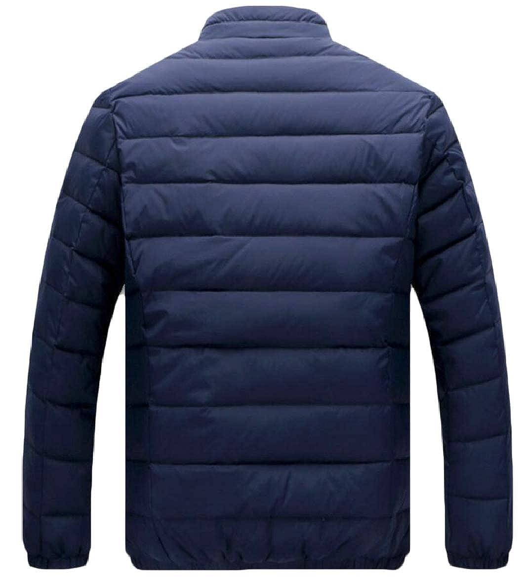 xiaohuoban Men Stand Collar Packable Light Weight Down Puffer Jacket