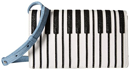 Stella Mccartney Kids Stella Mccartney Kids Girls Piano Crossbody, Silver, UNI by Stella McCartney Kids
