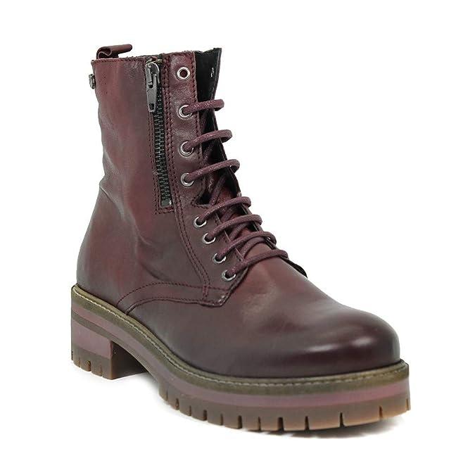 CARMELA - Botín - Cordones - Cremalleras - Piel - 39: Amazon.es: Zapatos y complementos