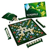 BuW Vintage Classic Word Score Game Scrabble Original Tiles Kids Board Games,creative funny home party games playing Entertainment toys