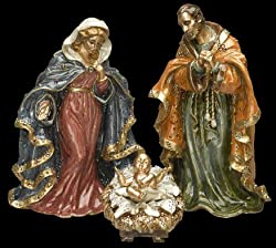 Jay Strongwater Nativity Set Jesus Mary Joseph SDH1714450