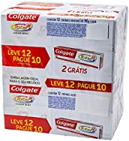 Creme Dental terapêutico 90G Clean Mint L12P10 Pc, Colgate