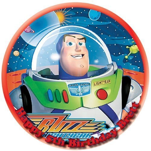 - Single Source Party Supply - Buzz Lightyear Edible Icing Image #3-Size